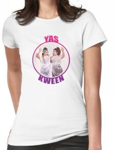 BROAD CITY YAS KWEEN Womens Fitted T-Shirt