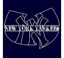 New York Yankees- Wu Tang mash up Photographic Print