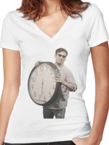It's Time To Stop Women's Fitted V-Neck T-Shirt