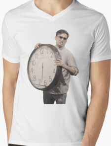 It's Time To Stop Mens V-Neck T-Shirt