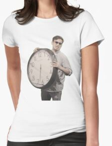It's Time To Stop Womens Fitted T-Shirt