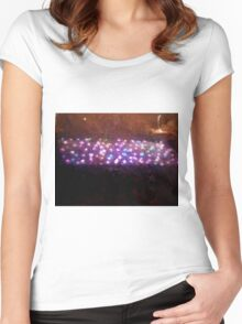 Lights games Women's Fitted Scoop T-Shirt