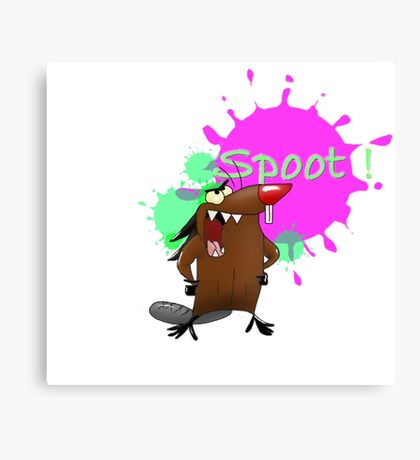 Spoot Canvas Print