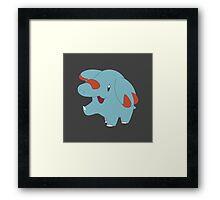 Pokemon- Phanpy Framed Print