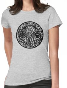 Cthulhu Stone Womens Fitted T-Shirt