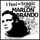 """""""I feel a-tragic like I'm Marlon Brando"""" - Bowie lyrics - Dark by WitchDesign"""