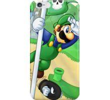 Flagpole Luigi iPhone Case/Skin