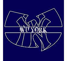 Wu York - New York Yankees- Wu Tang mash up Photographic Print