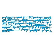 CS:GO guns collage Photographic Print