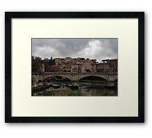 Ponte Vittorio Emanuele 11 Framed Print