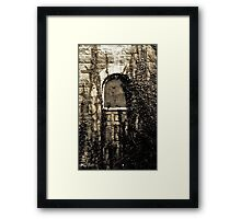 Let Me Back In  Framed Print