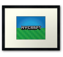 Mycraft Framed Print