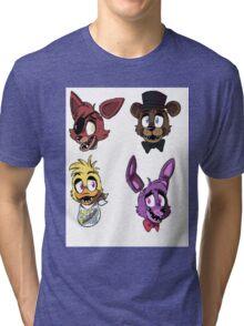 FNAF Characters Tri-blend T-Shirt