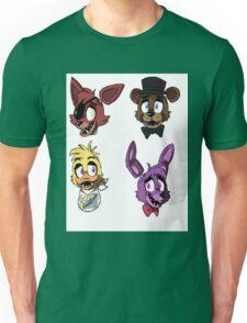 FNAF Characters Unisex T-Shirt