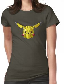 Mechachu Womens Fitted T-Shirt
