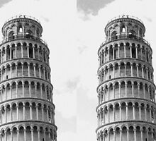 Leaning Tower of Pisa by Lillie Halton