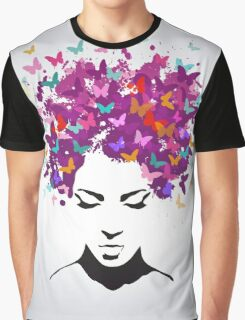 Butterflies Beauty Graphic T-Shirt