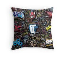 CS:GO Teams Throw Pillow