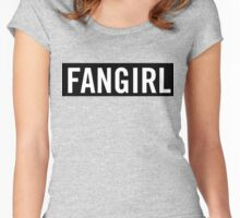 Fangirl Women's Fitted Scoop T-Shirt