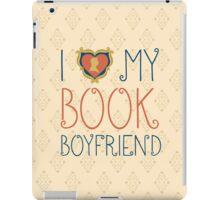 I Love My Book Boyfriend iPad Case/Skin