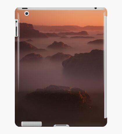 Abstract Landscape #8580 iPad Case/Skin