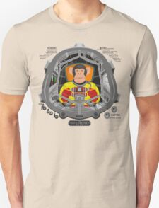 Piloted by a chimp Unisex T-Shirt