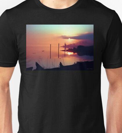 Sunrise on the Dike Unisex T-Shirt