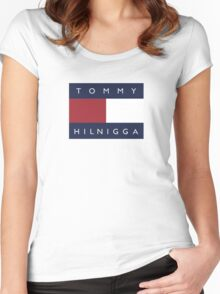 Tommy Hilnigga Women's Fitted Scoop T-Shirt