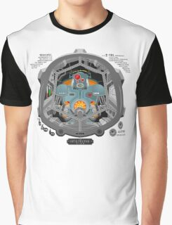 Piloted by a robot Graphic T-Shirt