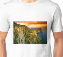 Last light on Cape Raoul Unisex T-Shirt