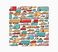 Cartoon seamless car pattern Unisex T-Shirt