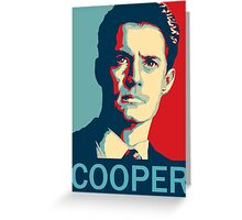 Agent Dale Cooper - Twin Peaks Greeting Card