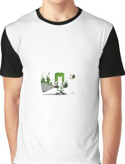 castle crashers green knight Graphic T-Shirt