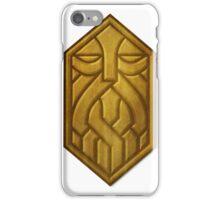 Golden Dwarven Sigil iPhone Case/Skin