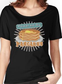 Powered by Pancakes Women's Relaxed Fit T-Shirt