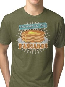 Powered by Pancakes Tri-blend T-Shirt
