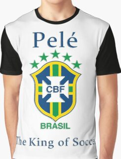 Pele king of soccer Graphic T-Shirt
