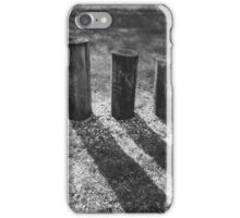 Three Pilings iPhone Case/Skin