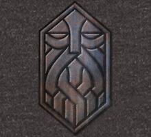 Steel Dwarven Sigil Unisex T-Shirt