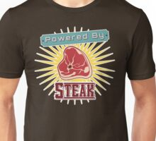 Powered by Steak Unisex T-Shirt