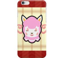 REESE ANIMAL CROSSING iPhone Case/Skin