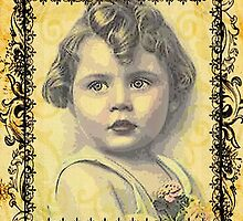 LITTLE GIRL WITH A CURL by Tammera