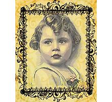 LITTLE GIRL WITH A CURL Photographic Print