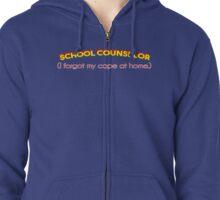 Super School Counselor Zipped Hoodie