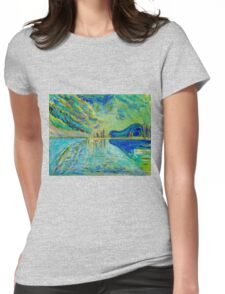 Moraine Lake Womens Fitted T-Shirt