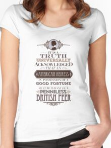 The Loaded American Heiress Women's Fitted Scoop T-Shirt