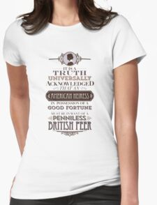 The Loaded American Heiress Womens Fitted T-Shirt