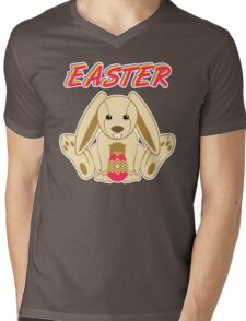 Easter bunny Mens V-Neck T-Shirt