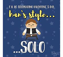 Han solo lover Photographic Print