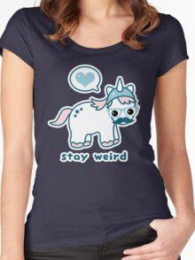 Nerdicorn Women's Fitted Scoop T-Shirt